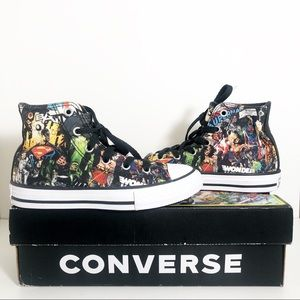 Converse All Star Justice League Pattern Size 13